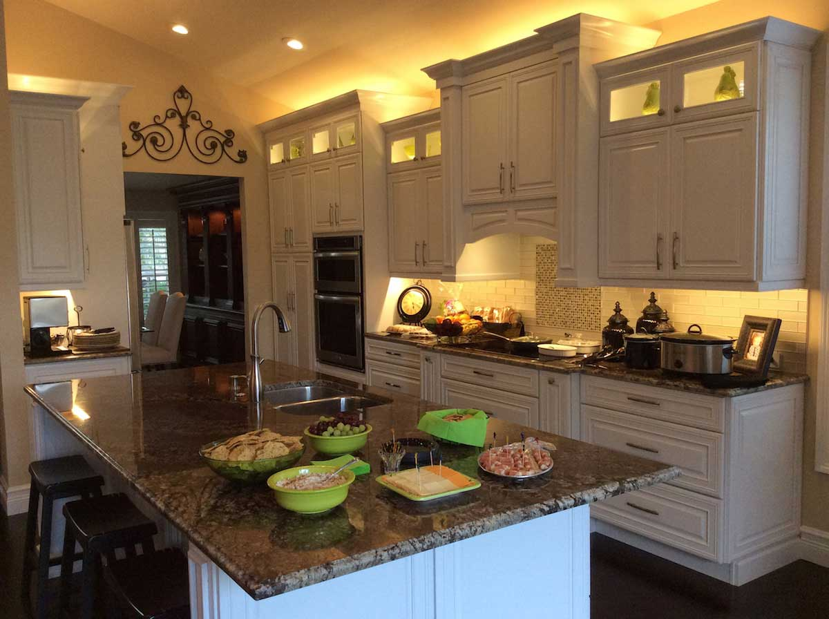 Led above cabinet lighting lighting ideas for Kitchen ideas under 5000